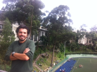 Candidato a Doctor nos cuenta sobre su pasantía en Colombia