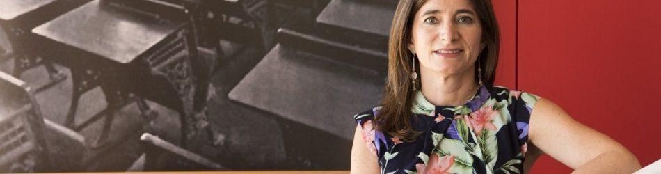 """""""MI DESAFÍO EN ESTA NUEVA ETAPA COMO DIRECTORA DE LA ESCUELA DE PSICOLOGÍA ES LA MEZCLA ENTRE APRENDER Y ENTREGAR"""""""